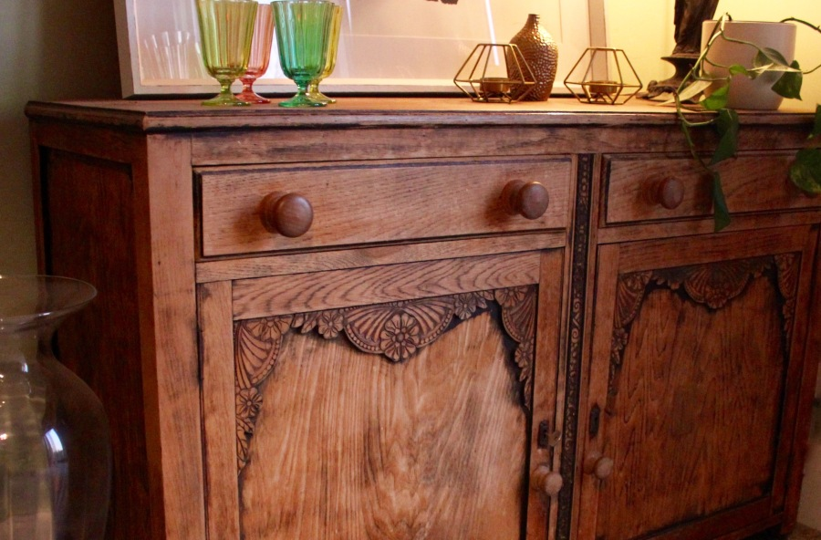 repaired-oak-sideboard
