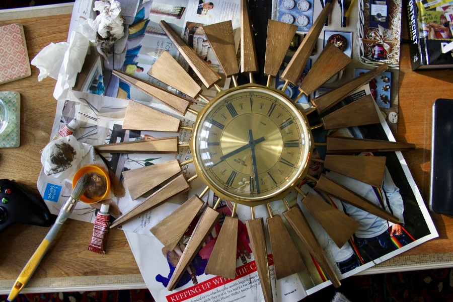 sunburst-clock-being-painted-2