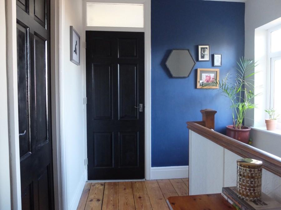 black painted doors 2